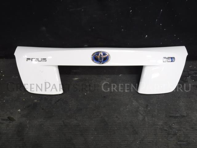 Стоп-планка на Toyota Prius ZVW51 2ZR-FXE