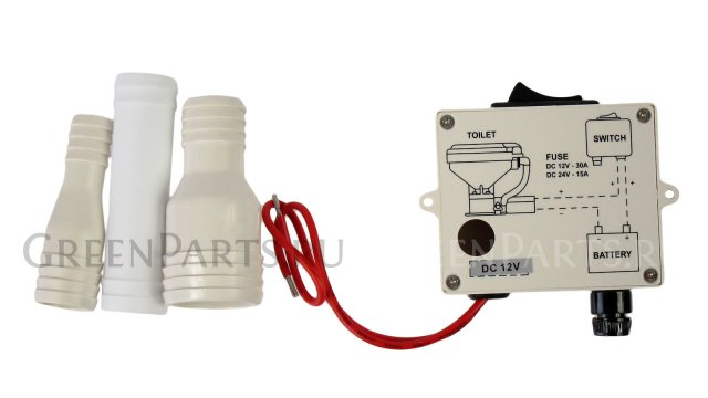 Унитаз с электрической помпой на TMC