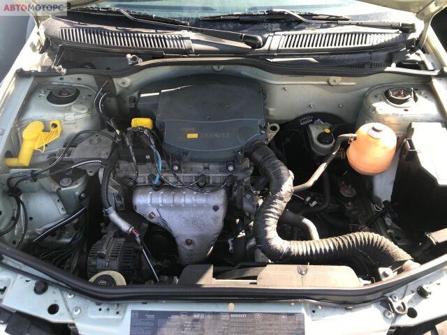 Генератор на Renault Megane I (1995-2003) номер/маркировка: 7700422237