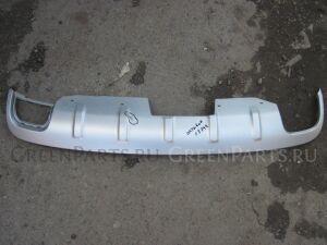 Накладка на бампер на Skoda OCTAVIA А5