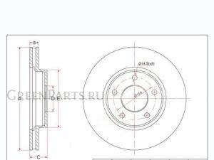 Диск тормозной на Nissan Serena C26, NC26, FC26, FNC26, HFC26, HC26