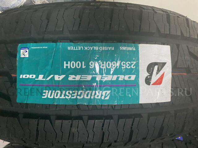 шины Япония 2019 год Bridgestone Dueler AT001 235/60R16 летние
