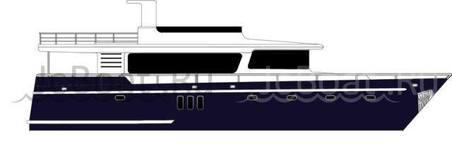 яхта моторная POPILOV-1999 2013 г.