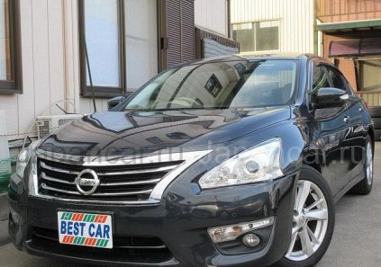 Nissan Teana 2015 года в Японии, TOYAMA