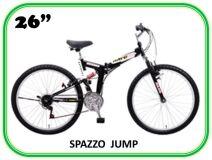 велосипед ALPHA SPAZZO JUMP 26'' (складной)