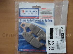 Колодки на SUZUKI GSF400 BANDIT ОЕМ: 59301-45860
