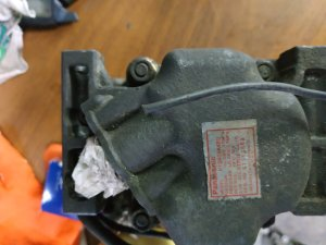 Компрессор кондиционера на Mazda Capella GWER FS H112A0AA4RU