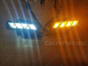 Дневные ходовые огни на Toyota Land Cruiser Prado GRJ120, GRJ120W, GRJ121W, GRJ125W, KDJ120, KDJ120W 1GRFE, 1KDFTV, 2TRFE, 3RZFE, 5LE, 5VZFE
