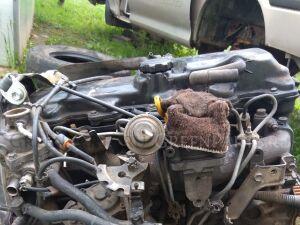 Двигатель в сборе на Toyota Hiace LH-178 5L
