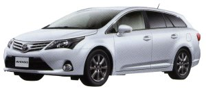 TOYOTA AVENSIS 2014 г.