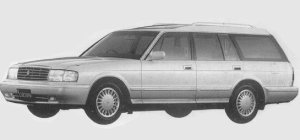 TOYOTA CROWN 1993 г.