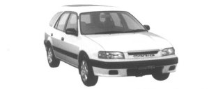 TOYOTA SPRINTER CARIB 1995 г.