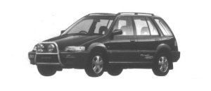 HONDA CIVIC SHUTTLE 1995 г.