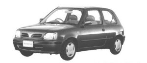 NISSAN MARCH 1998 г.