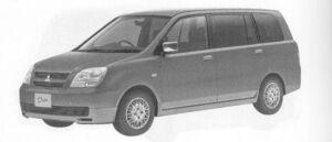 MITSUBISHI DION 2004 г.
