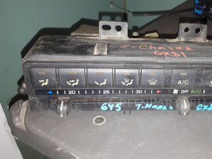 Блок управления климат-контролем на Toyota Mark II GX81