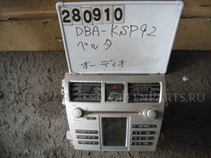 Автомагнитофон на Toyota Belta KSP92 1KR-FE