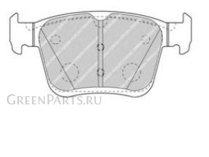 Колодки тормозные на Audi A3