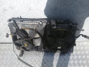 Радиатор на Daewoo Lacetti